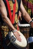 Барабанчики сыгранные женщинами Стоковая Фотография RF