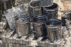Барабанчик бочонка нефти масла Стоковое фото RF