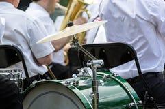 Барабанчик оркестра Стоковая Фотография