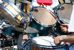барабанчик Стоковое фото RF