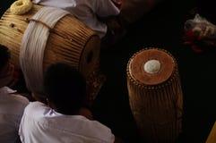БАРАБАНЧИК MUSIC&CULTURE Стоковые Фотографии RF