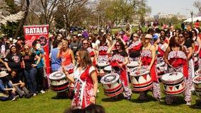 Барабанщики женщин Стоковая Фотография RF