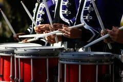 барабанщики Стоковое Изображение RF