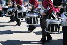 барабанщики стоковые изображения