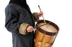барабанщик мальчика стоковые изображения rf