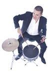 барабанщик стоковое фото