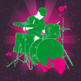 барабанщик иллюстрация штока