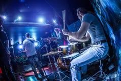 барабанщик Стоковая Фотография