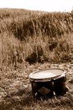 барабаньте полем Стоковые Изображения