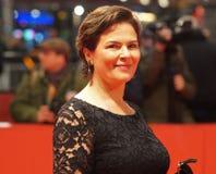 Барбара Auer на Berlinale 2018 Стоковое Изображение RF