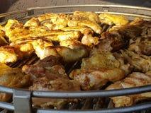 Барбекю цыпленка Стоковое Изображение RF