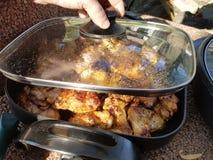 Барбекю цыпленка Стоковое Фото