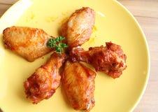 Барбекю цыпленка Стоковые Изображения