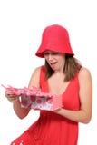 барвинок подарка платья цвета милый предназначенный для подростков Стоковая Фотография