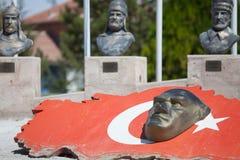 барельеф Ataturk стоковые фотографии rf