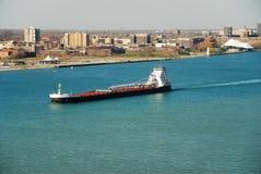 баржа Great Lakes Стоковая Фотография