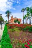Бари, Италия, Апулия: Взгляд улицы театра Margherita в th стоковые изображения rf