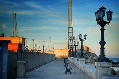 Бари, южный порт Италии Стоковая Фотография RF