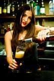 бармен Стоковая Фотография RF