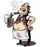бармен Стоковое Изображение RF