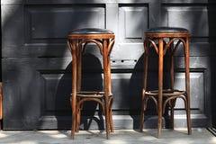 2 барного стула Стоковое Изображение RF