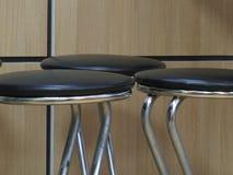 3 барного стула Стоковое фото RF