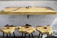3 барного стула Стоковое Фото