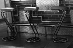 Барные стулы Стоковое Изображение RF