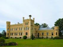 Баронский замок XIX века Стоковая Фотография RF