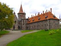 Баронский замок XIX века Стоковые Изображения