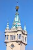 барочная башня замока стоковое фото