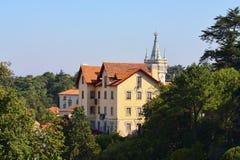 барочная башня замока стоковые изображения rf