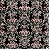 барочная картина безшовная Стоковое Изображение RF