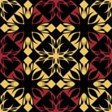 барочная картина безшовная Стоковые Изображения RF