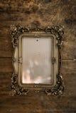 Барочная рамка фото Стоковые Изображения