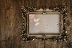 Барочная рамка фото Стоковые Фотографии RF