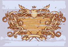 барочная рамка v Стоковое Фото