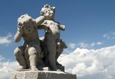 барочная скульптура стоковая фотография