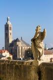 Барочная статуя в Kutna Hora Стоковое Изображение RF