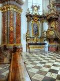 Барочная церковь Прага, чехия Стоковые Фотографии RF
