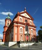 барочная церковь Стоковое Изображение