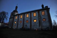 Барочная церковь стоковое фото