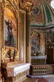 Барочная часовня в дворце Queluz национальном, Португалия Стоковые Фотографии RF