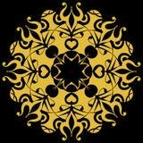 барочное украшение богато украшенный Стоковые Фото