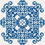 барочное украшение флористическое Стоковое Изображение RF