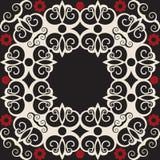 барочное украшение флористическое Стоковые Фотографии RF