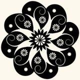 барочное украшение флористическое Стоковая Фотография