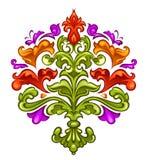 барочное флористическое Стоковые Изображения