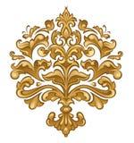 барочное флористическое Стоковые Фотографии RF