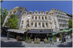 Барочные здания в скопье, македонии Стоковая Фотография RF